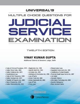 Buy online Universals Multiple Choice Questions for Judicial Service  Examination 12th Edition