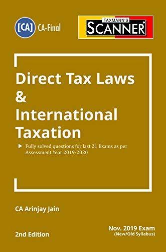 Taxmanns Scanner Direct Tax Laws and International Taxation 2nd Edition