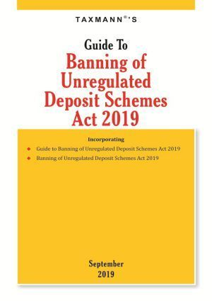 Guide To Banning of Unregulated Deposit Schemes Act 2019 September Edition