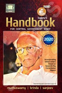 Swamys Handbook 2020 For Central Government Staff 46th Edition