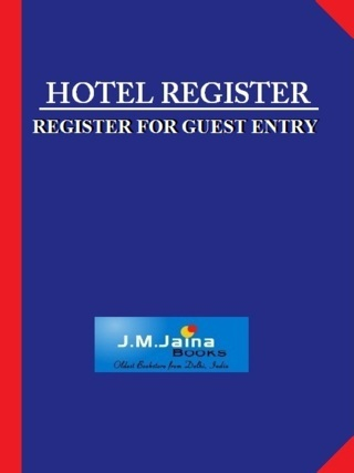 Hotel Register 200 Pages