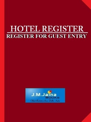 Hotel Register 400 Pages
